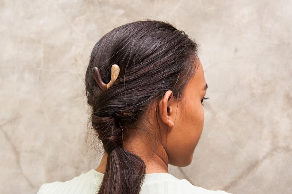 Saya Designs Introduces The World To Wooden Hairpins