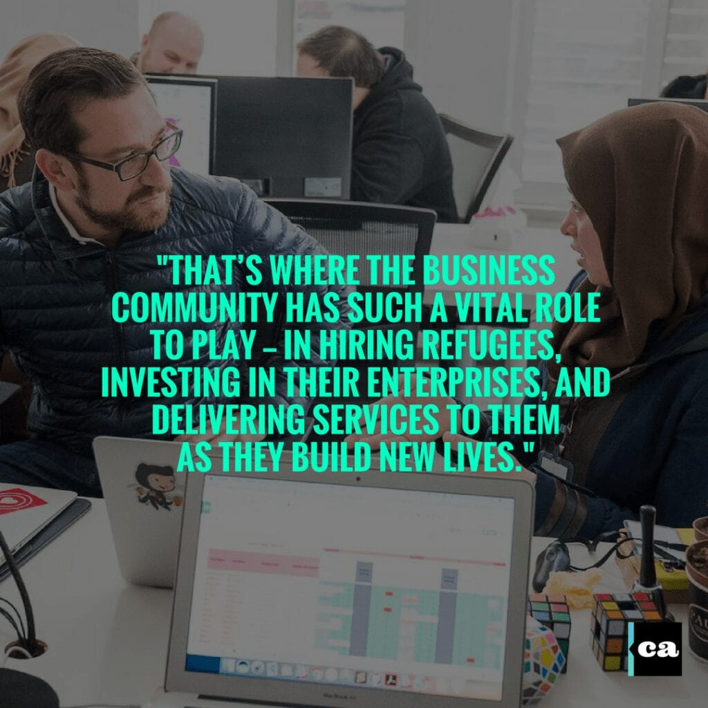 How Fortune 500 Companies And Unicorns Can Come Together End The Refugee Crisis