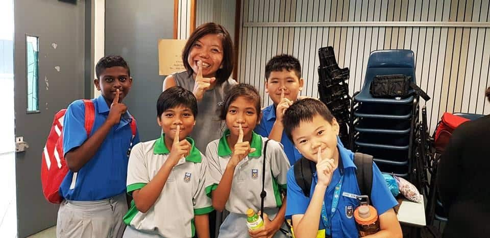 YoungXHUSH volunteers with Anthea Ong | Photo credit: Hush TeaBar