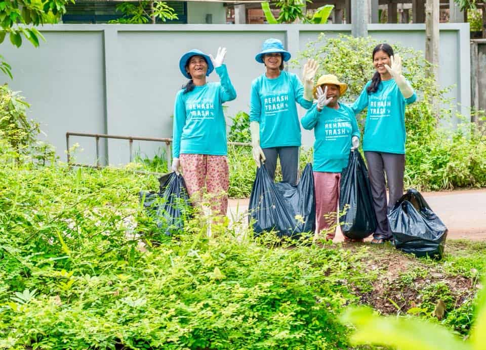 Rehash Trash and Moms are Reducing Plastic Pollution and Changing Lives in Cambodia