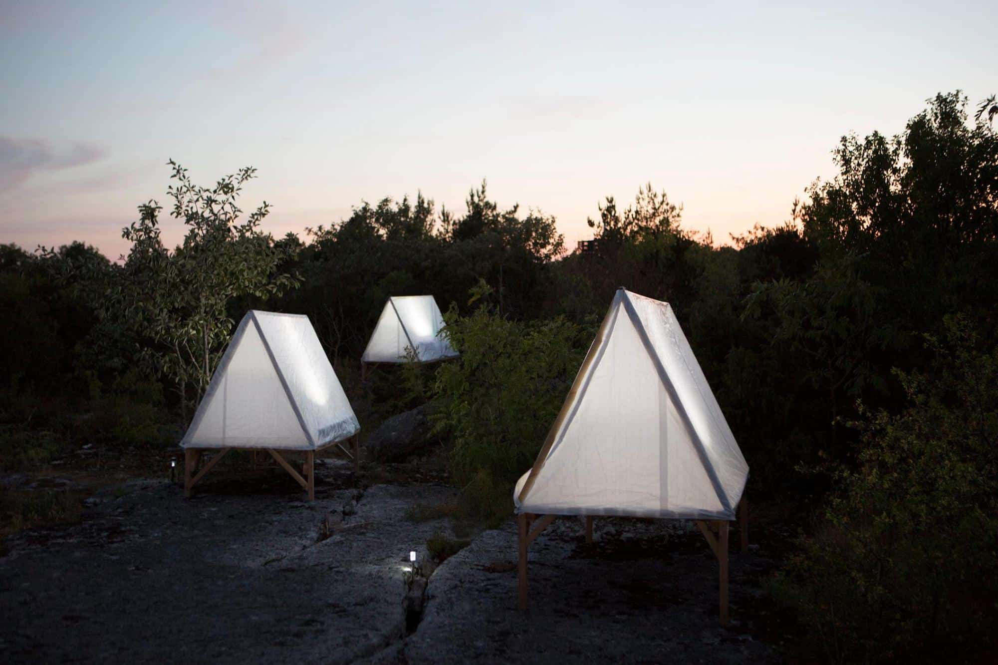 inflatable solar lightcamping