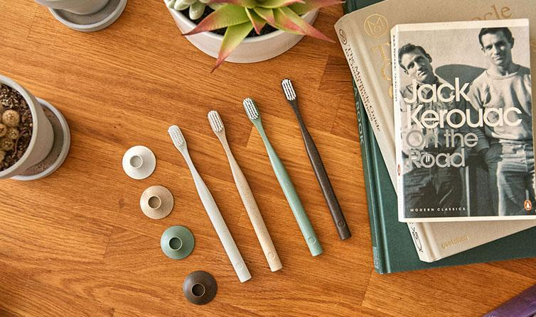 Father's Day Ethical gift guide - Sustainable Toothbrushes from Bogobrush