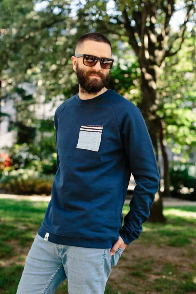 Father's Day Ethical gift guide - The Perfect Camping Sweatshirt from Origin Africa