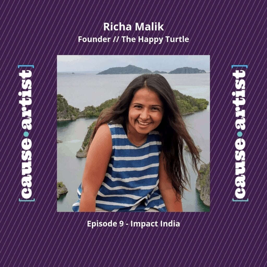 Reducing Plastic Consumption with Richa Malik of The Happy Turtle