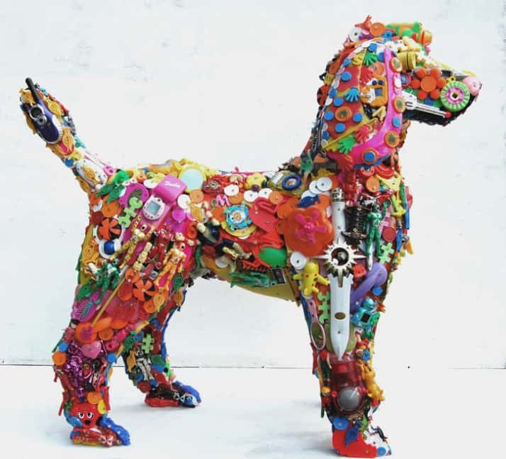 Incredible Artivists Using Recycled Materials in Their Creations