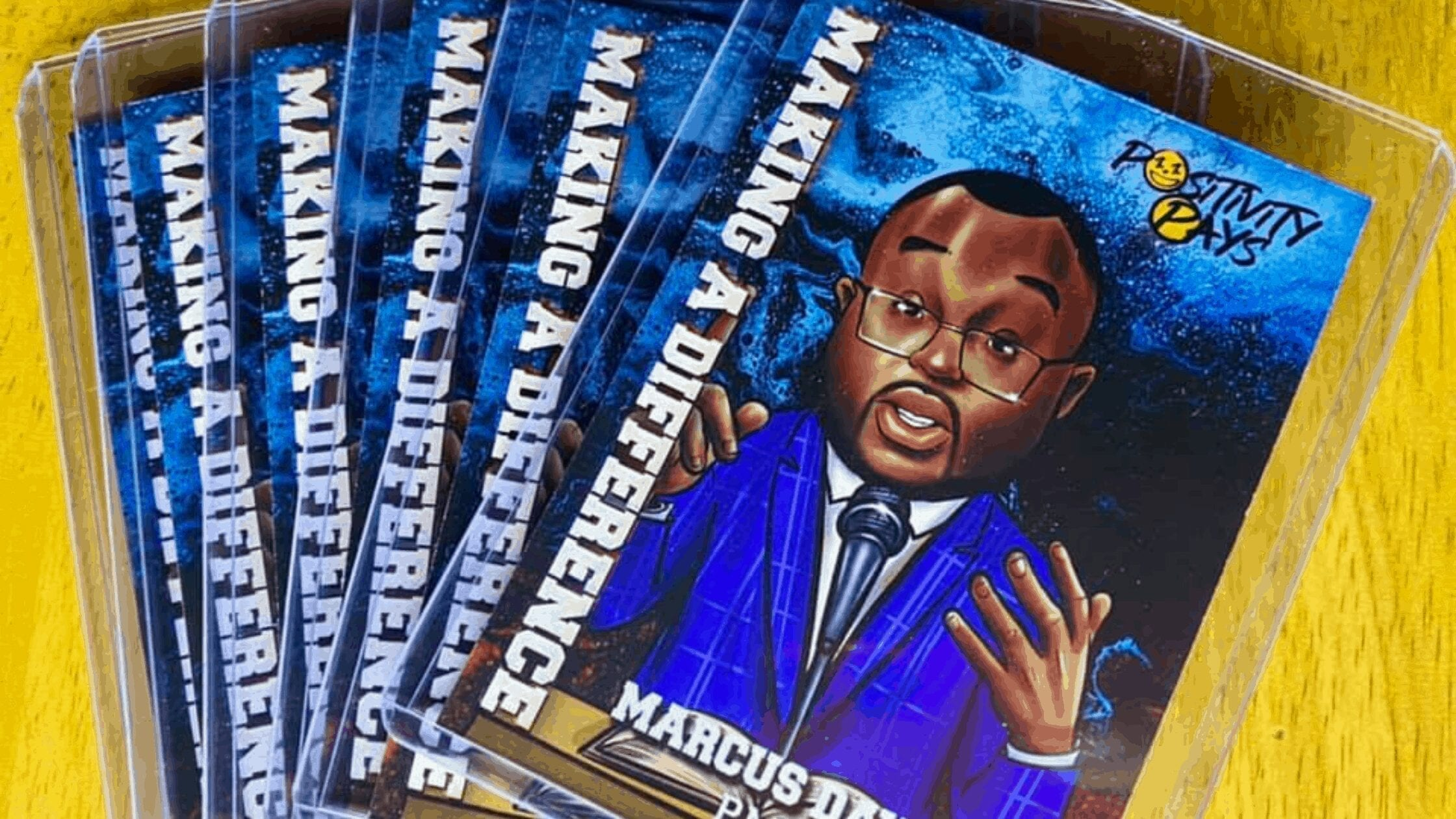 Positivity Pays Releases Heroes Trading Cards Featuring Impact Leaders